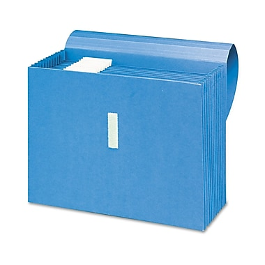 Smead® Letter Recycled Expanding File w/10 1/2in. Expansion, Blue