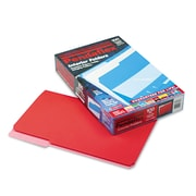 Pendaflex® Legal Recycled 1/3 Cut Interior File Folder w/ 3/4 Expansion, Red, 100/Pack