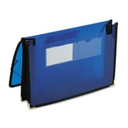 "Smead® Letter Expanding Wallet, 2 1/4"" Expansion, Blue"