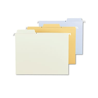 Smead® Hanging Folder, Assorted, 5/Pack