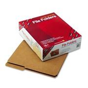 Smead® Letter 2/5 Cut File Folder w/ 3/4 Expansion, Kraft, Brown, 100/Pack
