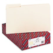 Smead®  100% Recycled File Folder, Reinforced 1/3 Cut Tab, Legal Size, Manila, 100 Per Box (15347)
