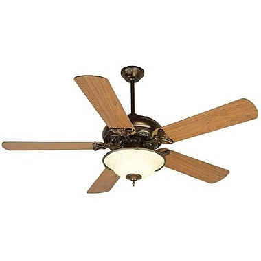 Craftmade Barcelona 5 Blades Ceiling Fan; Oiled Bronze
