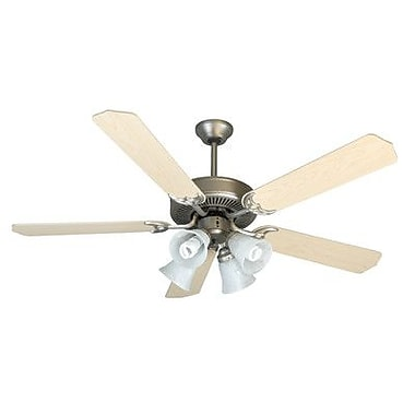 Craftmade CD Unipack 5 Blades 203 Fan; Brushed Nickel