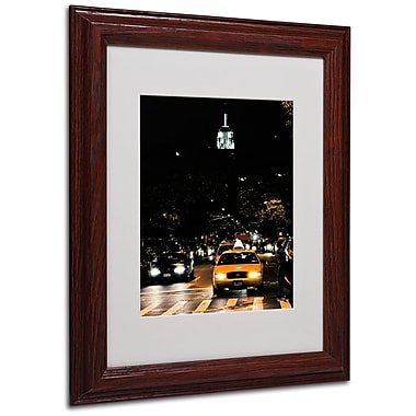 Ariane Moshayedi 'Empire State of Mind' Matted Framed Art - 11x14 Inches - Wood Frame