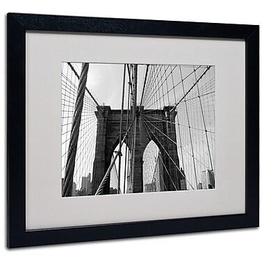 Trademark Fine Art Ariane Moshayedi 'Wired' Matted Art Black Frame 16x20 Inches