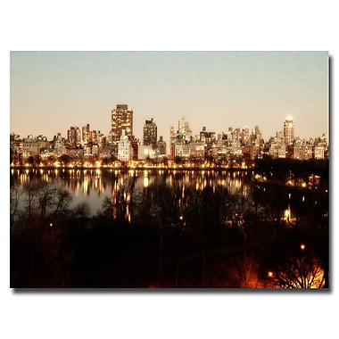 Trademark Fine Art Ariane Moshayedi 'All Lit Up' Canvas Art 22x32 Inches