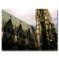 Trademark Fine Art Ariane Moshayedi 'Vienna Cathedral' Canvas Art 35x47 Inches