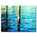 Trademark Fine Art Ariane Moshayedi 'High Tide' Canvas Art 16x24 Inches