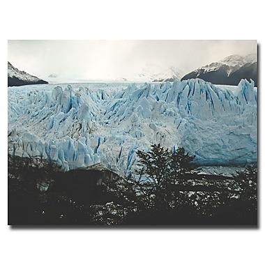Trademark Fine Art Ariane Moshayedi 'Perrito Moreno Glacier' Canvas Art 35x47 Inches