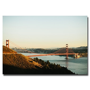 Trademark Fine Art Ariane Moshayedi 'GG Bridge' Canvas Art 16x24 Inches