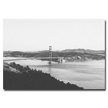 Trademark Fine Art Ariane Moshayedi 'Vintage GG Bridge' Canvas Art 30x47 Inches
