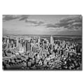 Trademark Fine Art Ariane Moshayedi 'Aerial City' Canvas Art 30x47 Inches