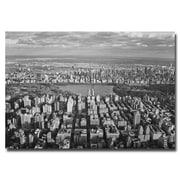 Trademark Fine Art Ariane Moshayedi 'Cloud View' Canvas Art 22x32 Inches
