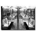Trademark Fine Art Ariane Moshayedi 'Subway Car' Canvas Art