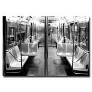 Trademark Fine Art Ariane Moshayedi 'Subway Car' Canvas Art 16x24 Inches