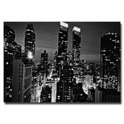 Trademark Fine Art Ariane Moshayedi 'Follow the Lights' Canvas Art 16x24 Inches