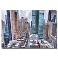 Trademark Fine Art Ariane Moshayedi 'Gotham City' Canvas Art 30x47 Inches