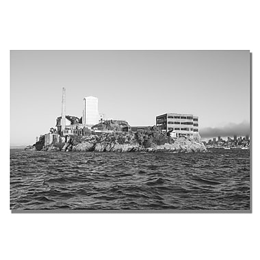 Trademark Fine Art Ariane Moshayedi 'Alcatraz' Canvas Art 16x24 Inches
