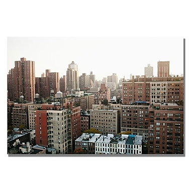 Trademark Fine Art Ariane Moshayedi ' City' Canvas Art 35x47 Inches