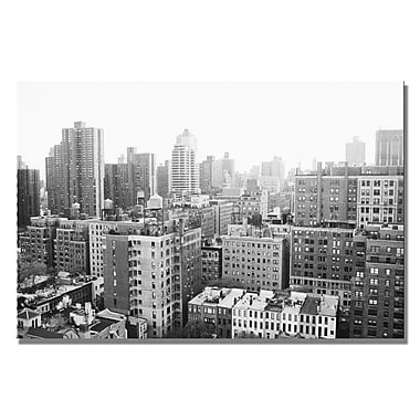 Trademark Fine Art Araine Moshayedi 'City II' Canvas Art 22x32 Inches