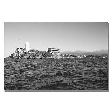 Trademark Fine Art Ariane Moshayedi 'Alcatraz III' Canvas Art 35x47 Inches
