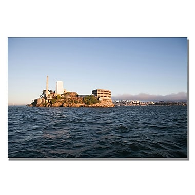Trademark Fine Art Ariane Moshayedi 'Alcatraz IV' Canvas Art 22x32 Inches