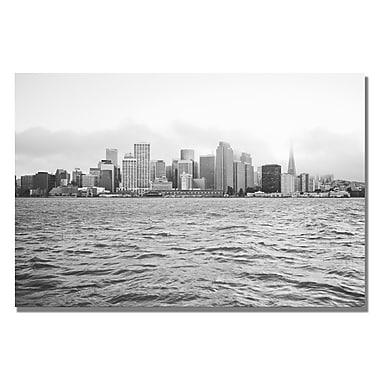 Trademark Fine Art Ariane Moshayedi 'City on the Water III' Canvas Art 16x24 Inches