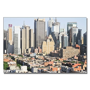 Trademark Fine Art Ariane Moshayedi 'City VI' Canvas Art 22x32 Inches