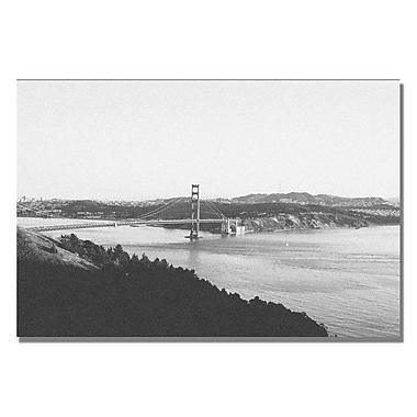 Trademark Fine Art Ariane Moshayedi 'To the Bridge' canvas art 35x47 Inches