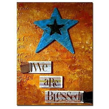 Trademark Fine Art Amanda Rea 'Star' Canvas Art