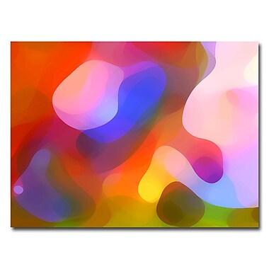 Trademark Fine Art Amy Vangsvard 'Dappled Summer Light' Canvas Art