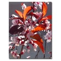 Trademark Fine Art Amy Vangsvard 'Pink Tree Blossoms' Canvas Art