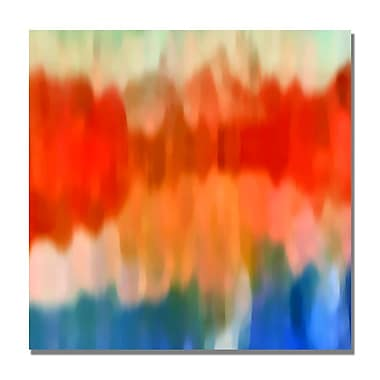 Trademark Fine Art Amy Vangsgard 'Abstract Watercolor II' Canvas 35x35 Inches