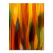 Trademark Fine Art Amy Vangsgard 'Forest Sunlight Vertical' Canvas Art