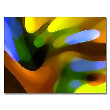 Trademark Fine Art Amy Vangsgard 'Gold Tree Light' Canvas Art
