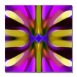 Trademark Fine Art Amy Vangsgard 'Tree Light Symmetry Magenta and Green' Canvas