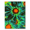 Trademark Fine Art Amy Vangsgard 'Pop Daisies XII' Canvas Art 35x47 Inches