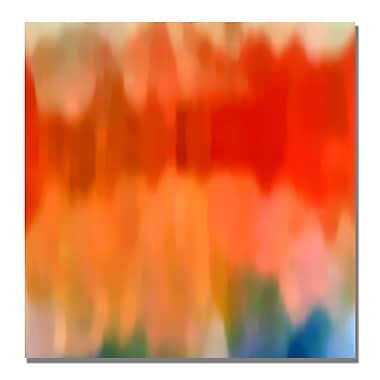 Trademark Fine Art Amy Vangsgard 'Abstract Watercolor II' Canvas Art 35x35 Inches