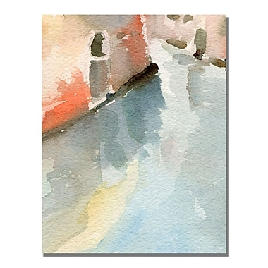 Trademark Fine Art Beverly Brown 'Canal Reflections Venice Italy' Canvas Art