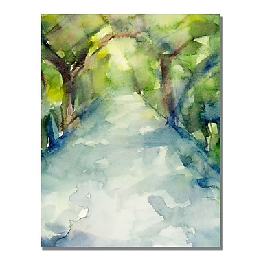 Trademark Fine Art Beverly Brown 'Conservatory Gardens Central Park' Canvas Art