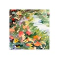 Trademark Fine Art Beverly Brown 'Path Monet's Garden in Giverny' Canvas Art