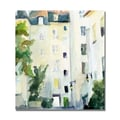 Trademark Fine Art Beverly Brown 'Village St. Paul France' Canvas Art