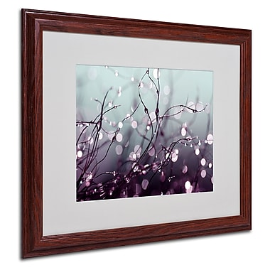 Beata Czyzowska Young 'Somewhere Over the Rainbow' Framed - 16x20 Inches - Wood Frame