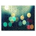 Trademark Fine Art Beata Czyzowska 'Rainy City' Canvas Art 22x32 Inches