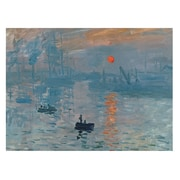 Trademark Fine Art Claude Monet 'Impression Sunrise' Canvas Art