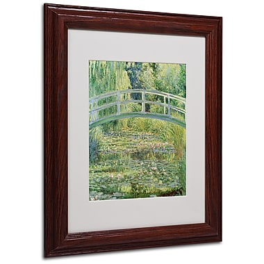 Claude Monet 'The Waterlily Pond-Pink Harmony 1899' M - 11x14 Inches - Wood Frame