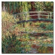 Trademark Fine Art Claude Monet 'Waterlily Pond Pink Harmony1900' Canvas