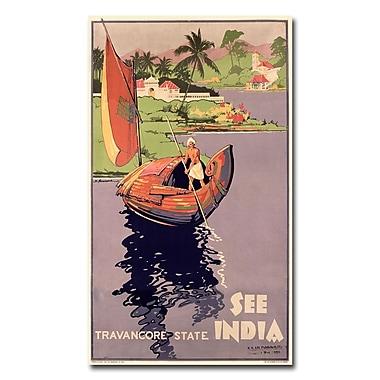 Trademark Fine Art 'See India' Canvas Art