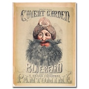Trademark Fine Art Matthew Morgan 'Blue Beard 1860' Canvas Art